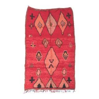 Vintage Moroccan Boujad Rug - 5′8″ × 8′5″