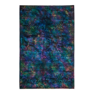 """Hand Knotted """"Vibrance"""" Area Rug - 5' 2"""" X 7' 10"""""""