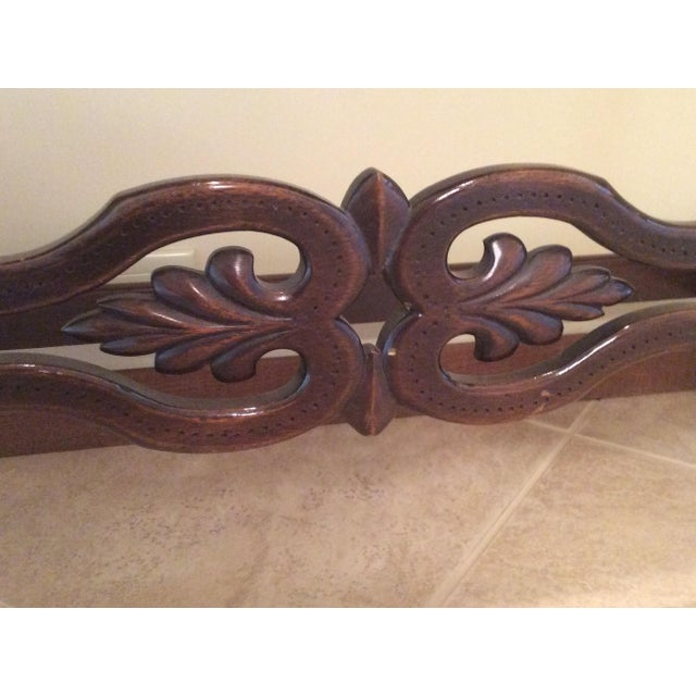 American Walnut Sofa Table - Image 8 of 8