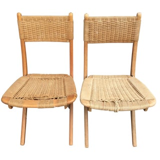 Hans Wegner Inspired Chairs - A Pair
