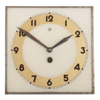 Art Deco Wall Clock by Chomutov, 1930s