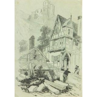 Drawing Town, Circa 1880