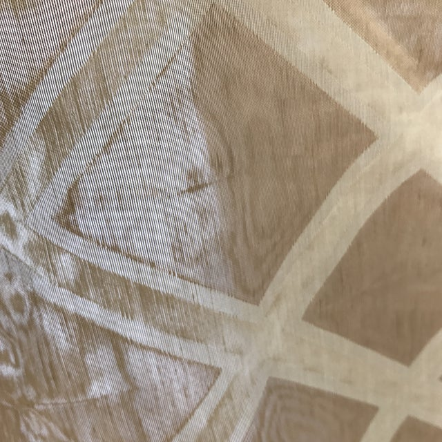 Jack Lenor Larsen Modern Metallic Fabric - Image 2 of 6