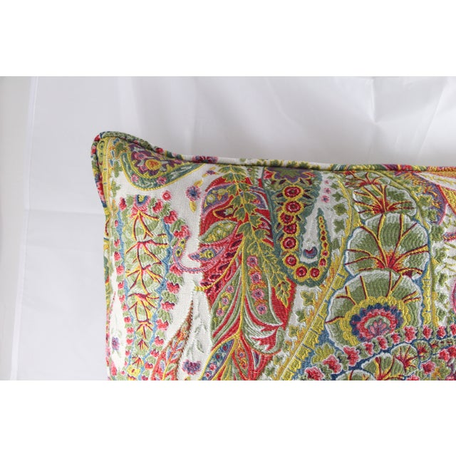 Image of Multi Color Paisley Pillow
