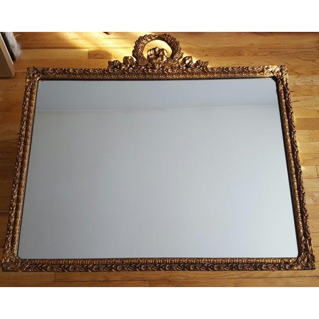 Louis XVI Style Gold Gilt Mirror - Image 2 of 6