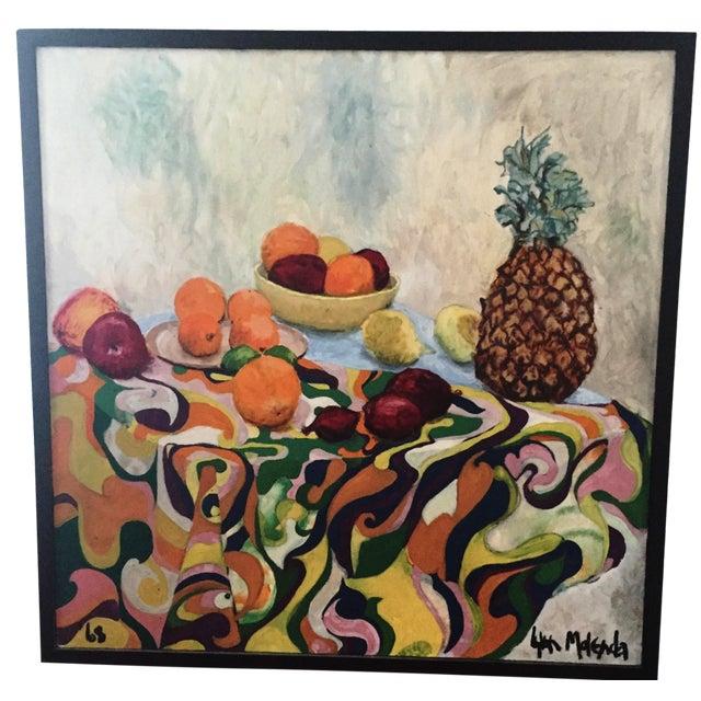 Fruit Still Life by Lynn Molenda, 1968 - Image 1 of 9