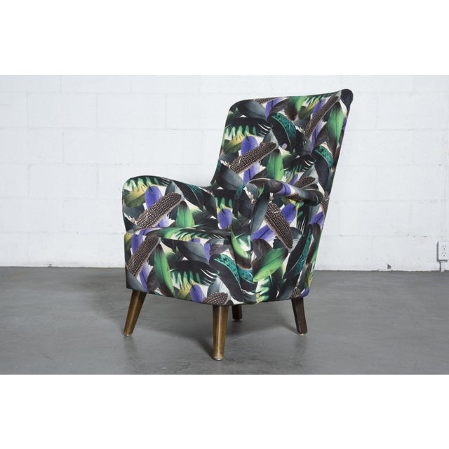 Theo Ruth Armchair Feather Upholstery - Image 2 of 10