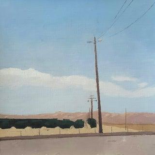 Central Valley Landscape Original Oil Painting