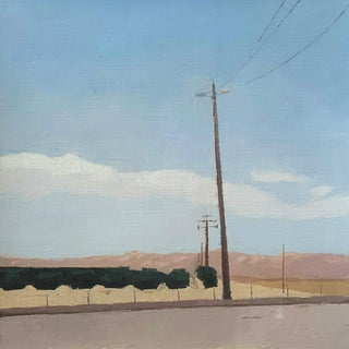 Central Valley Landscape Original Oil Painting