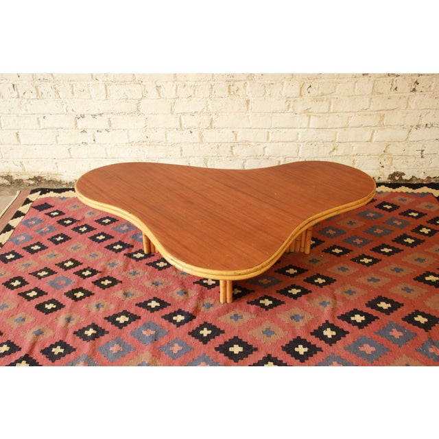 Image of Mid-Century Ritts Tropitan Organic Coffee Table