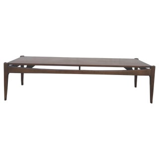 Mid-Century Modern Walnut Coffee Table