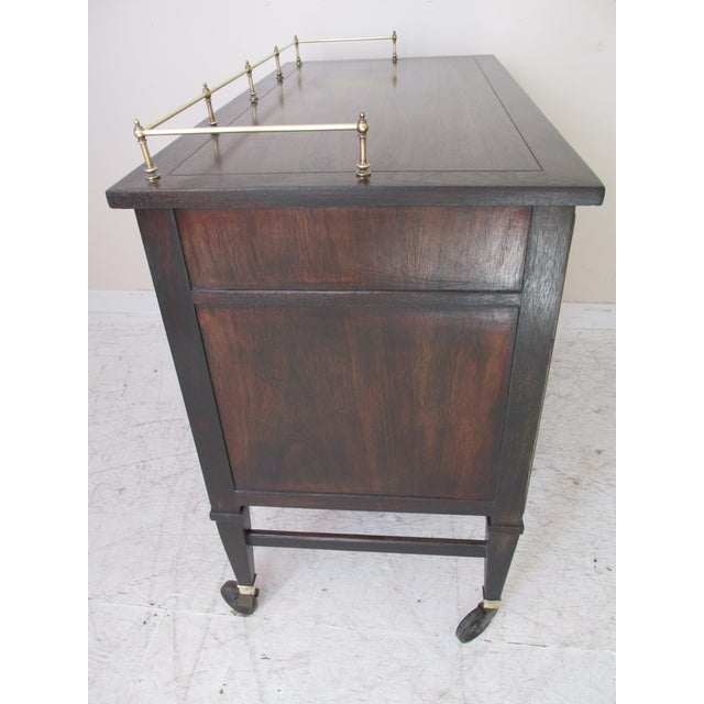Image of Drexel Mid-Century Serving Cart