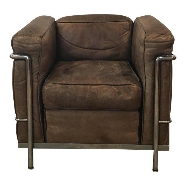 Le corbusier vintage chair chairish for Le corbusier chair history