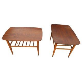 Mid-Century Danish Modern Lane End Tables