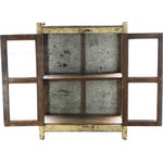 Image of Vintage Rustic Yellow Cabinet