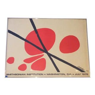 Alexander Calder Vintage Lithograph Poster