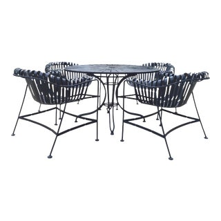 Mid-Century Outdoor Patio Set - Set of 5