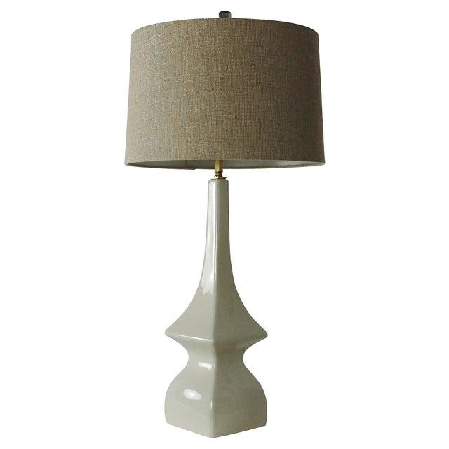 Mid Century Modern Pagoda Shape Ceramic Lamp Chairish