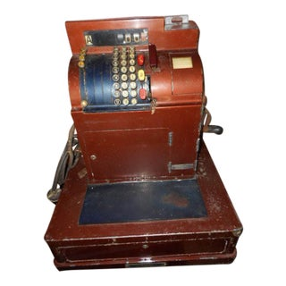 National Vintage Cash Register