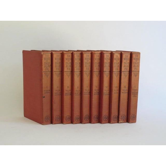 The Works of Edgar Allen Poe - Set of 10 - Image 4 of 8