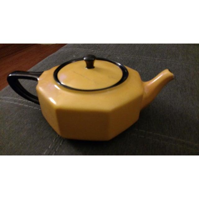 1957 Antique Steubenville China Teapot - Image 3 of 5