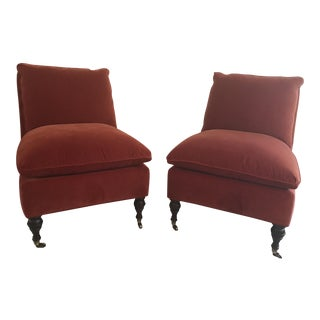 Mitchell Gold + Bob Williams Slipper Chairs - A Pair