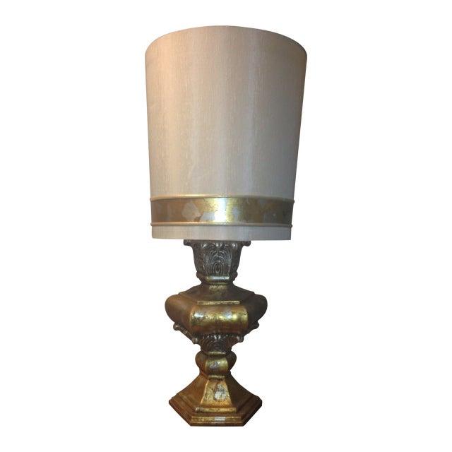 Gilt Kelly Wearstler Style Table Lamp Chairish