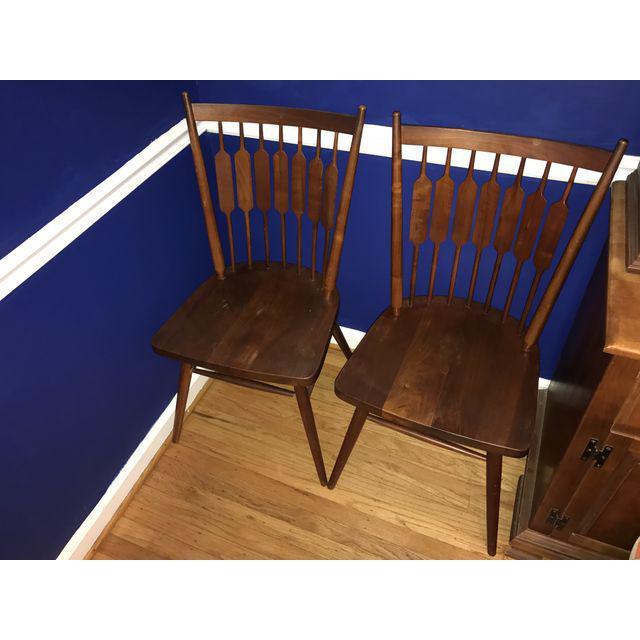 Drexel Declaration Kipp Stewart Dining Chairs - Set of 6 - Image 3 of 7