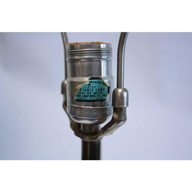Laurel Lamp Co. Chrome Lamp Mid-Century - Image 4 of 7