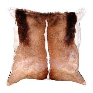 African Springbok Pillow
