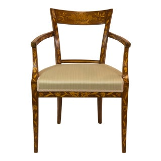 1920's French Armchair With Inlay