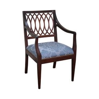 Stickley Colonial Williamsburg Mahogany Arm Chair