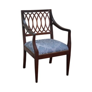 Stickley Colonial Williamsburg Mahogany Arm Chair