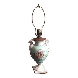 Vintage Vista Alegra Ermine Floral Lamp