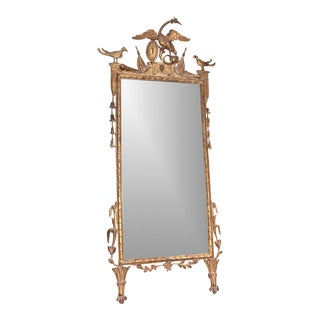 Northern Italian Giltwood Mirror