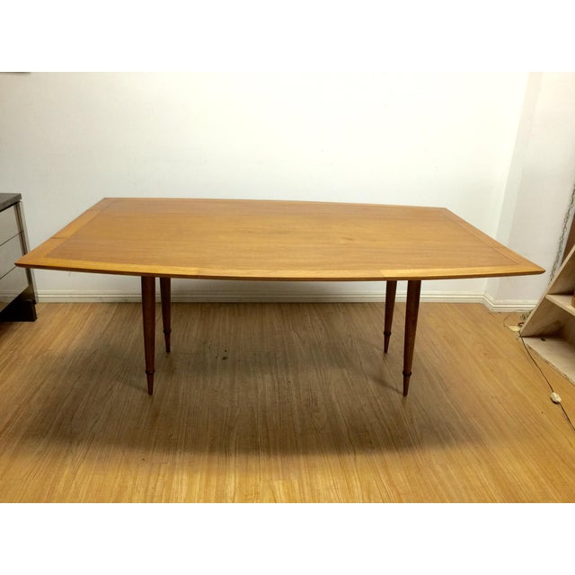 Image of Mid-Century Drop Leaf Dinning Table by Tomlinson