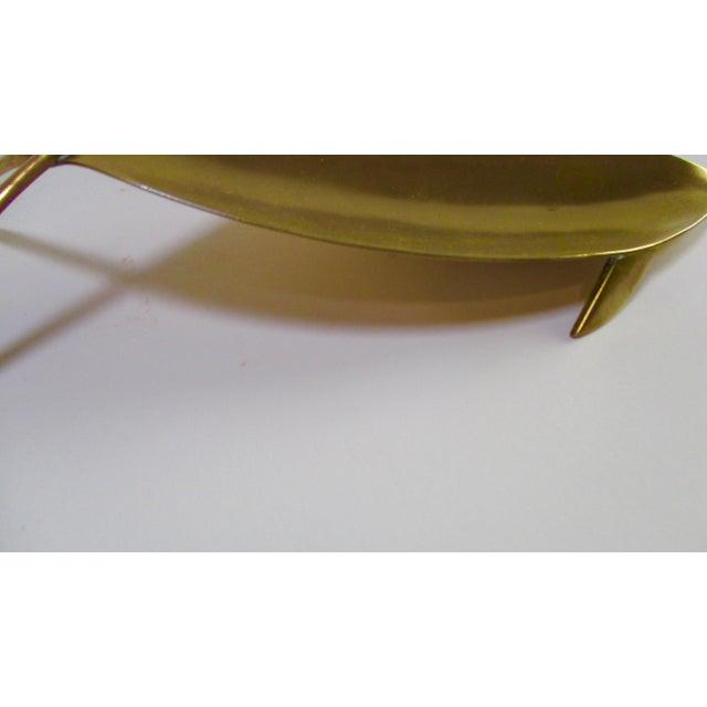 1960s Sculptural Mixed Metal Fish Platter - Image 7 of 11