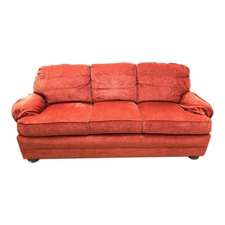 Salmon 3-Cushion Sofa & Loveseat Set