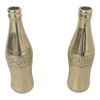Vintage Brass Coca Cola Bottles