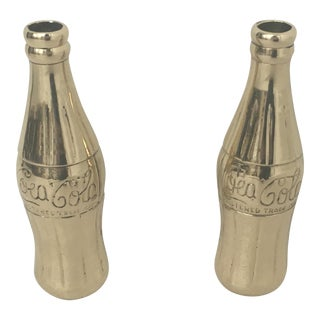 Vintage Brass Coca Cola Bottles