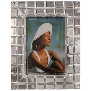 Lucite Midcentury Picture Frame
