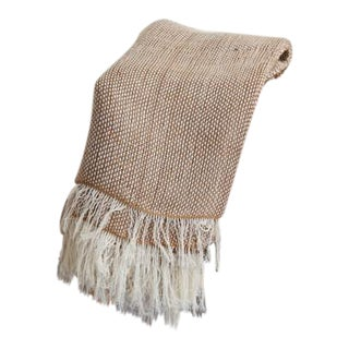 Abanja Fas Throw Blanket in Jute