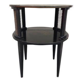 Vintage Katherine Henick Signed End Table
