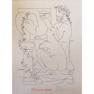 Picasso Vintage Signed Edition Lithograph