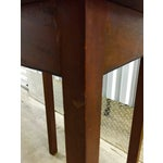 Image of Antique Lift-Top Side Table