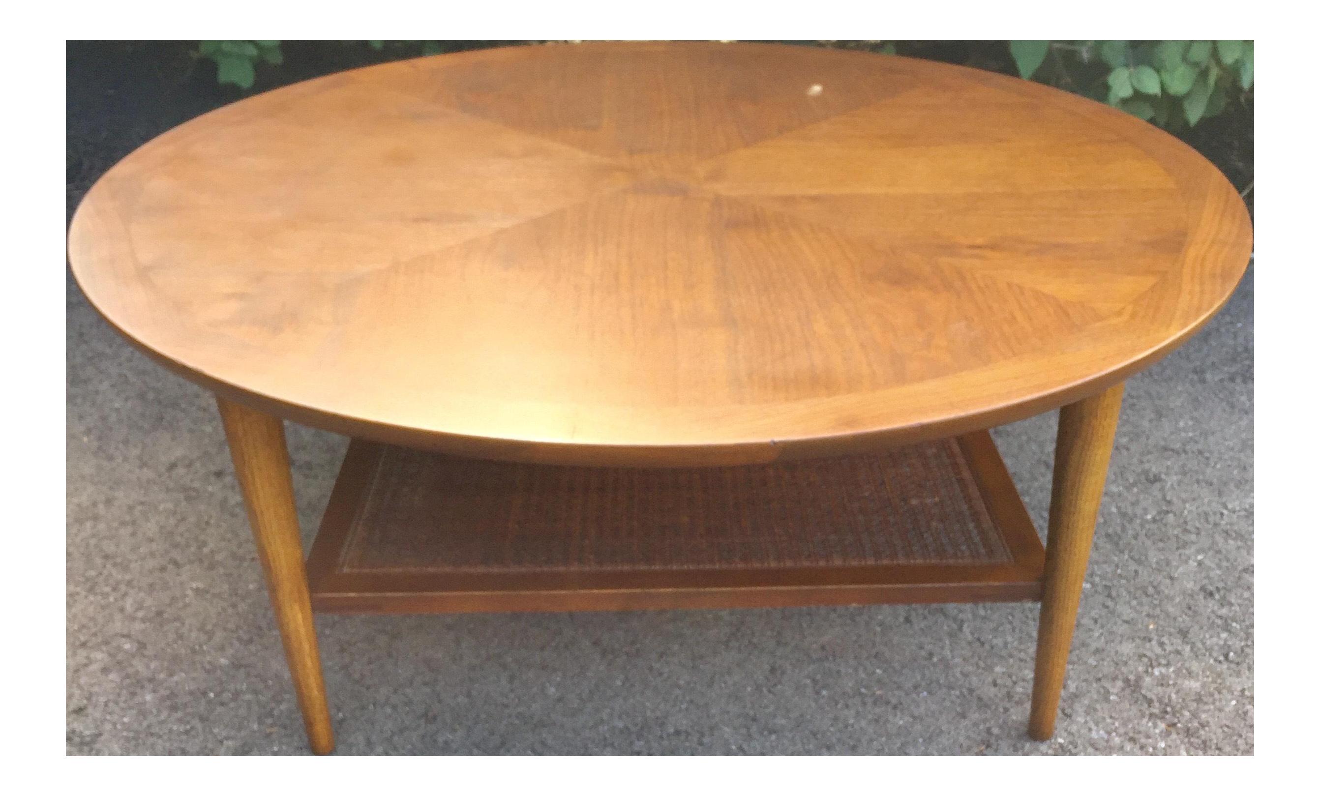 lane round coffee table