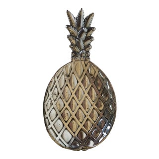 Vintage Silver Plate Petite Pineapple Dish/Tray