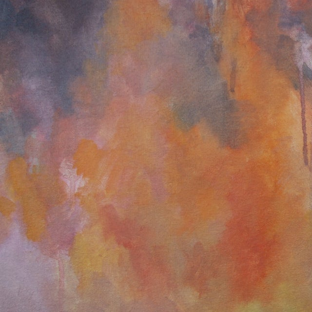 Kelly Johnston Glow Abstract Painting - Image 3 of 3
