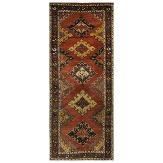 Vintage Turkish Oushak Rug - 5.2 x 13.5