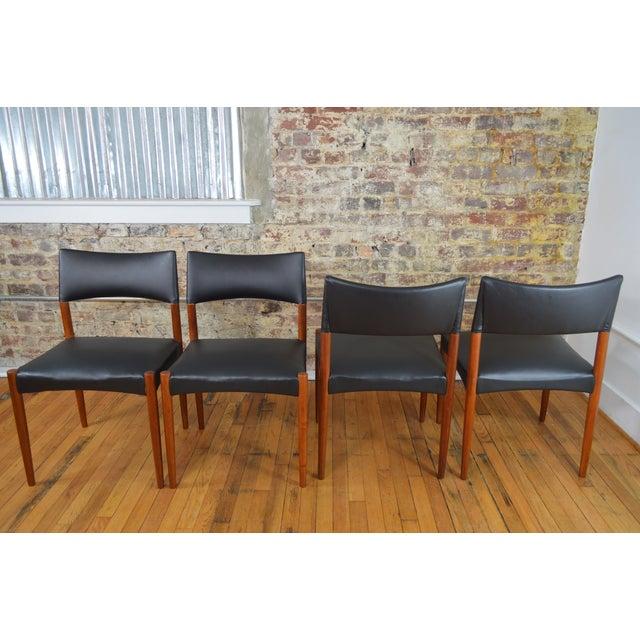 Ejner Larsen & Aksel Bender Madsen for Willy Beck Danish Teak Dining Chairs- Set of 6 - Image 5 of 7